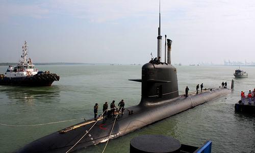 Indian Navy submarine data leaked