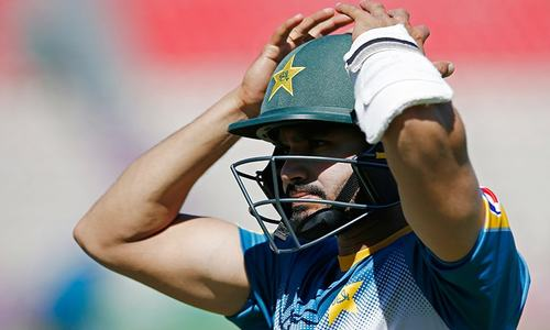 First ODI: Sharjeel falls early as Wood strikes