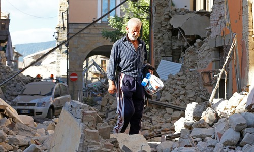 At least 120 dead as deadly quake brings carnage to Italian mountains