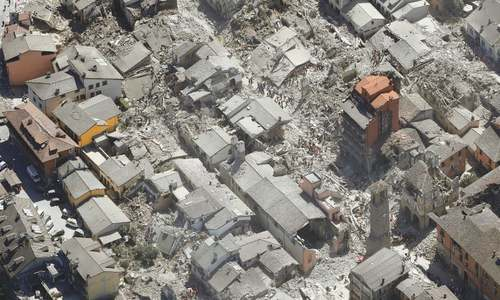 Carnage as quake hits Italy; 120 dead