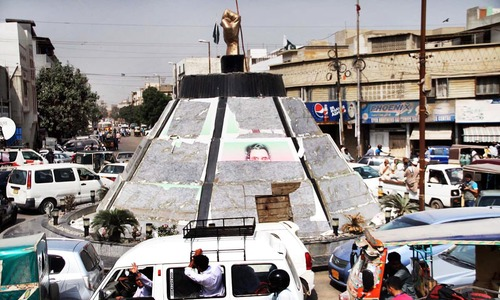 Altaf Hussain's posters removed from Nine Zero, adjoining areas