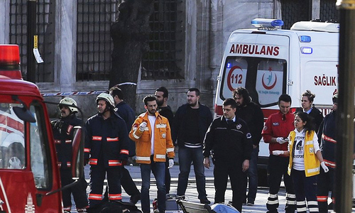 Several reported wounded in Turkey car bomb attack