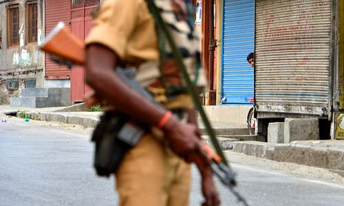 India to use chilli-based weapons in held Kashmir