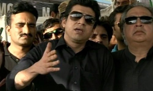 PTI's Faisal Vawda attacked in Karachi