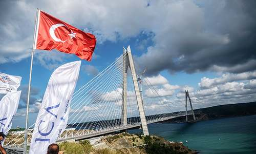 Erdogan opens third bridge over Istanbul's Bosphorus