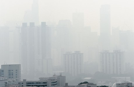 Singapore shrouded in smog as haze returns to Southeast Asia