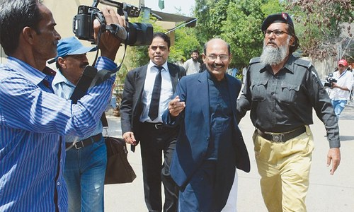 BSEK chief remanded in NAB custody for a day