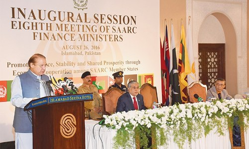 Pakistan working for regional integration, says Sharif