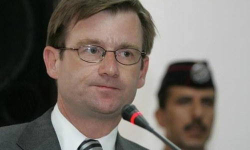 Foreign envoys stress talks on held Kashmir