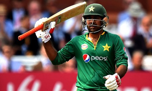 Second ODI: Sarfraz scores fifty after top-order failure
