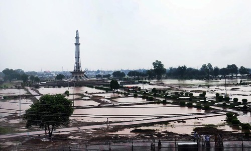 Downpour leaves Lahore inundated