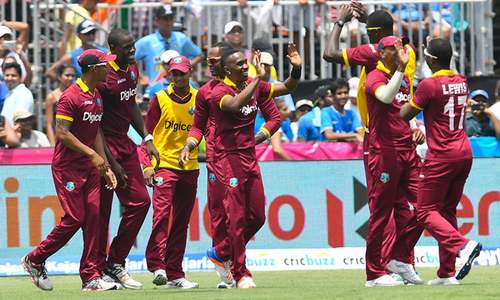 West Indies win one-run thriller against India in record run blitz