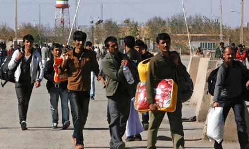 افغانستان: 125 پاکستانی مزدور تشدد کے بعد بے دخل