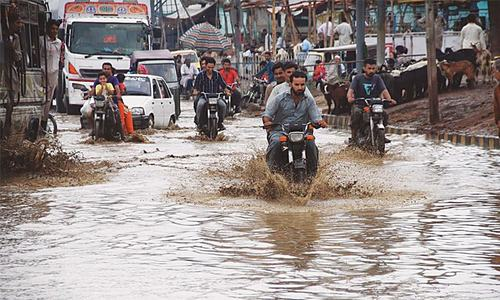 Seven more people die as rain lashes Karachi for second day
