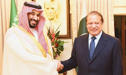PM, Saudi defence minister vow to boost ties
