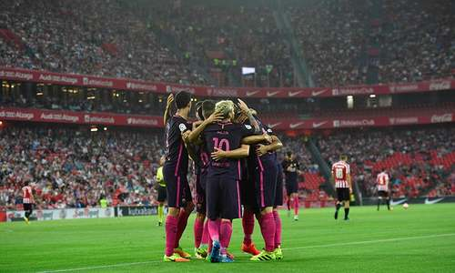 Barca hungry for more titles, says Luis Enrique