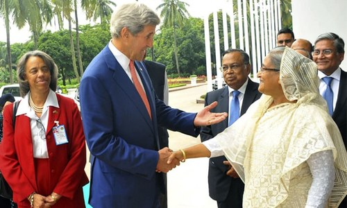 There is evidence of IS links to Bangladesh extremists, says Kerry