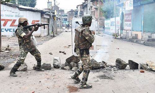 Curfew reimposed in held Kashmir after fresh clashes