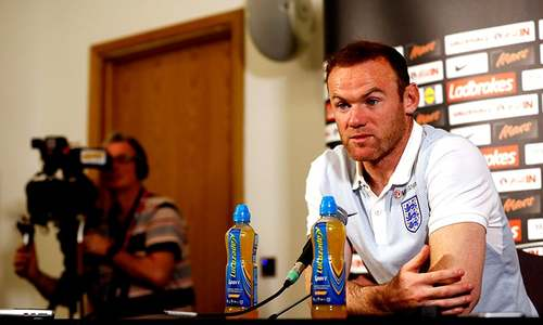 Rooney to step down from England duty after 2018 World Cup