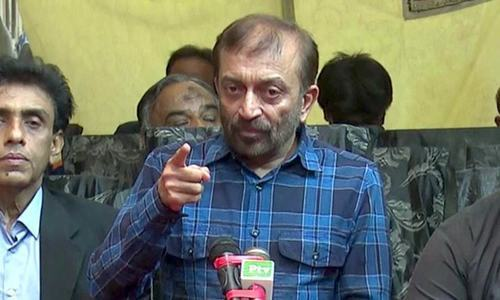Sattar seeks security for temporary MQM headquarters