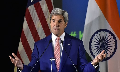 Pakistan moving at a greater pace against terrorism: Kerry