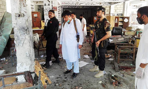 Suicide bomber kills 13 in attack on Mardan courthouse