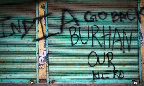 Burhan Wani has become what India long feared