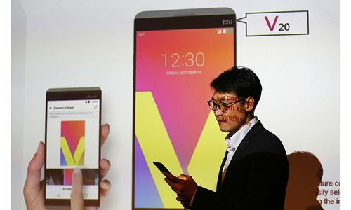LG unveils V20, the first phone to ship with new Android Nougat OS