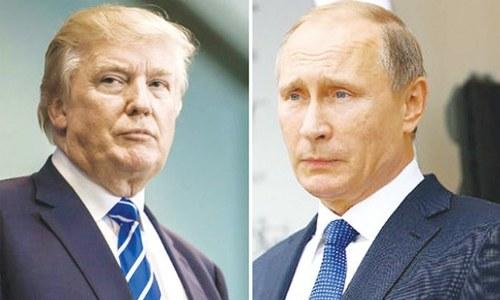 Trump says Putin 'far more' of a leader than Obama