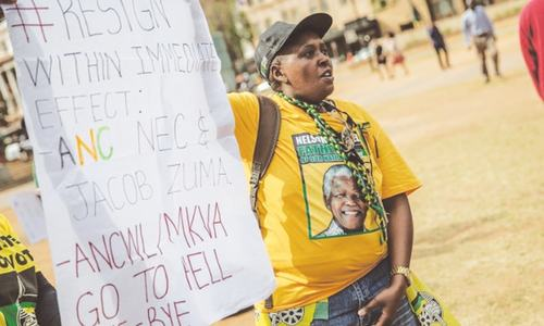 South Africa's ANC faces deep crisis  after vote defeat