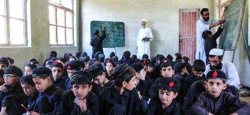 Learning perseverance: Why 300 students continue attending an overcrowded school in Swat
