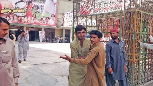Peshawar cinema houses witness low turnout of moviegoers on Eid