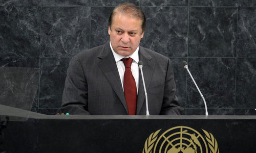 Sharif arrives for UNGA amid renewed tensions with India
