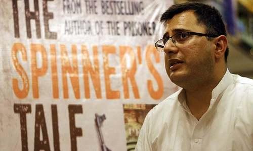 Police officer-turned-novelist, Omar Shahid returns to work as SSP