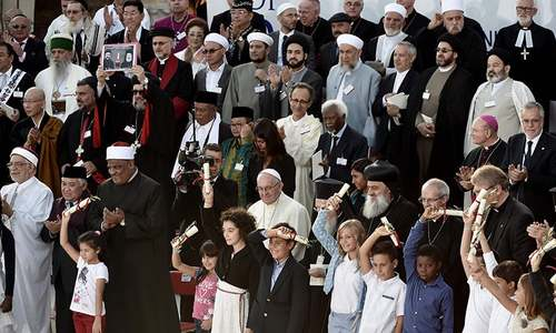 Pope Francis slams 'deafening silence of indifference' to war victims