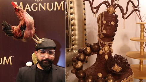 8 'surreal' moments from the Magnum Chocolate Party last night