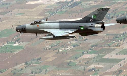 خیبر ایجنسی: فضائیہ کا طیارہ گر کر تباہ، پائلٹ ہلاک
