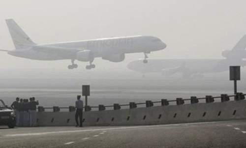 Flights cancelled over northern areas