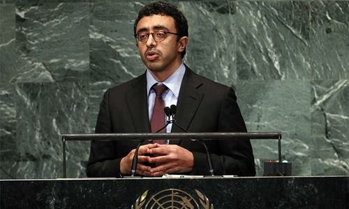 UAE accuses Iran of destabilising Middle East