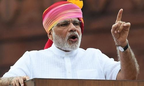 Modi interfering in Pakistan's internal affairs, say officials
