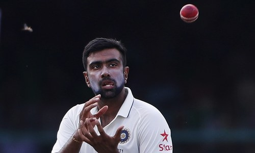 Ashwin second quickest to 200 Test wickets