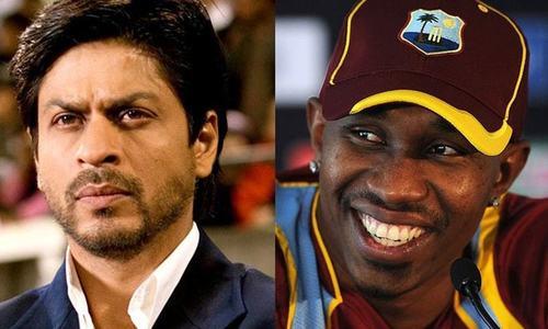 ڈی جے براوو، شاہ رخ کے ساتھ فلم کے خواہشمند