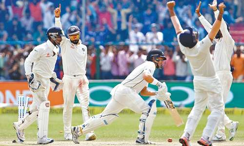 India thump New Zealand to celebrate 500th Test in style
