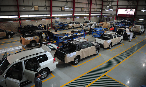 35 armoured vehicles exempted from duty