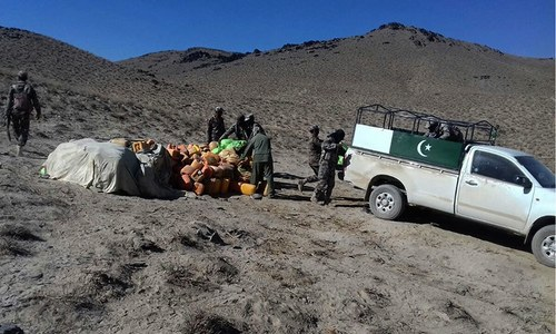 Security forces foil terror bid near Pak-Afghan border area in Balochistan