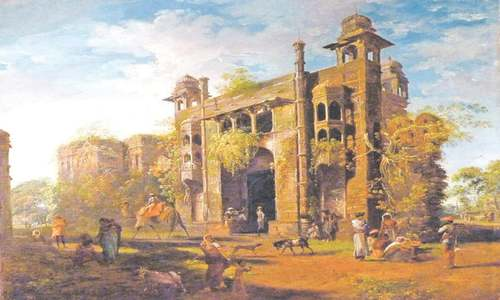 The Dhaka masterpiece paintings