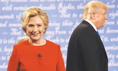 Poll shows Clinton won first debate against Trump