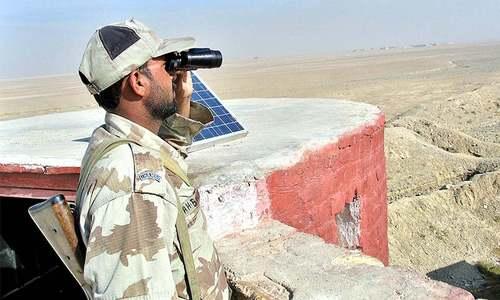 ایران کی سرحدی خلاف ورزی،بلوچستان میں مارٹر گولے فائر