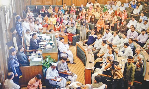 MQM-dominated city council adopts joint resolution against Altaf Hussain