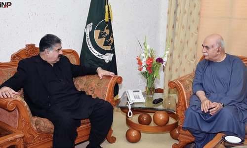 Achakzai meets Zehri